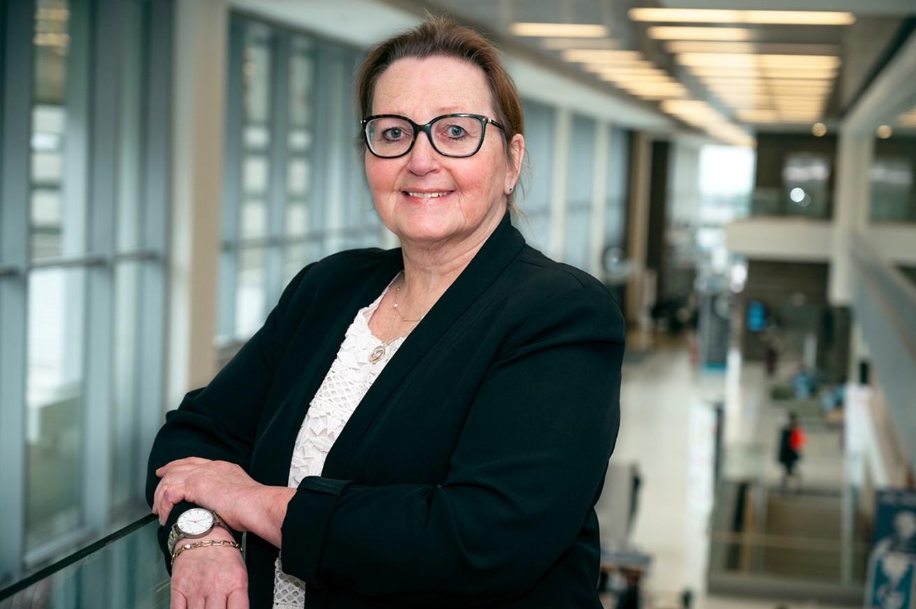 Portrait of Barb Collins