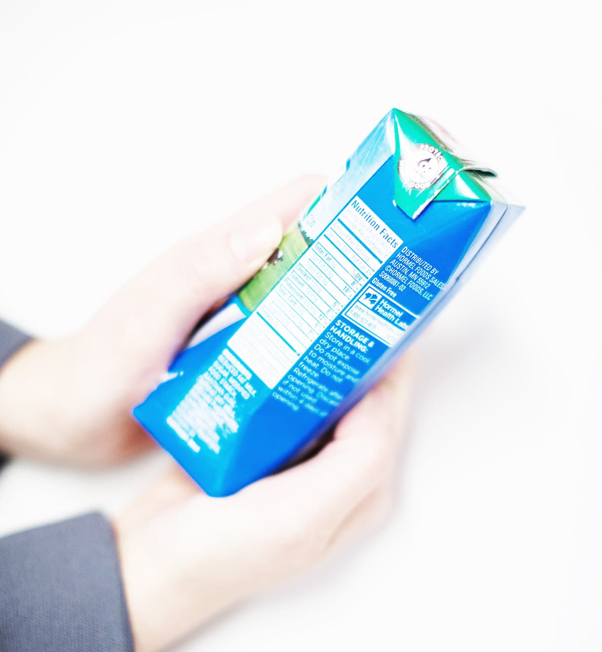 Image of unknown beverage in small carton