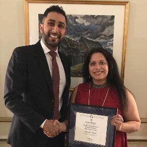 Canadian Society of Hospital Pharmacists presents 2019 Ontario Branch awards